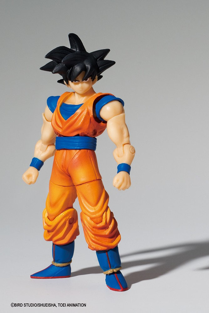 Dragon Ball Z - Bandai Shokugan Figure - Shodo Son Goku - 8 cm