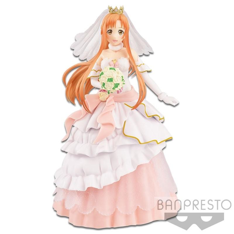 Banpresto EXQ Figure Sword Art Online Code Register Wedding Asuna