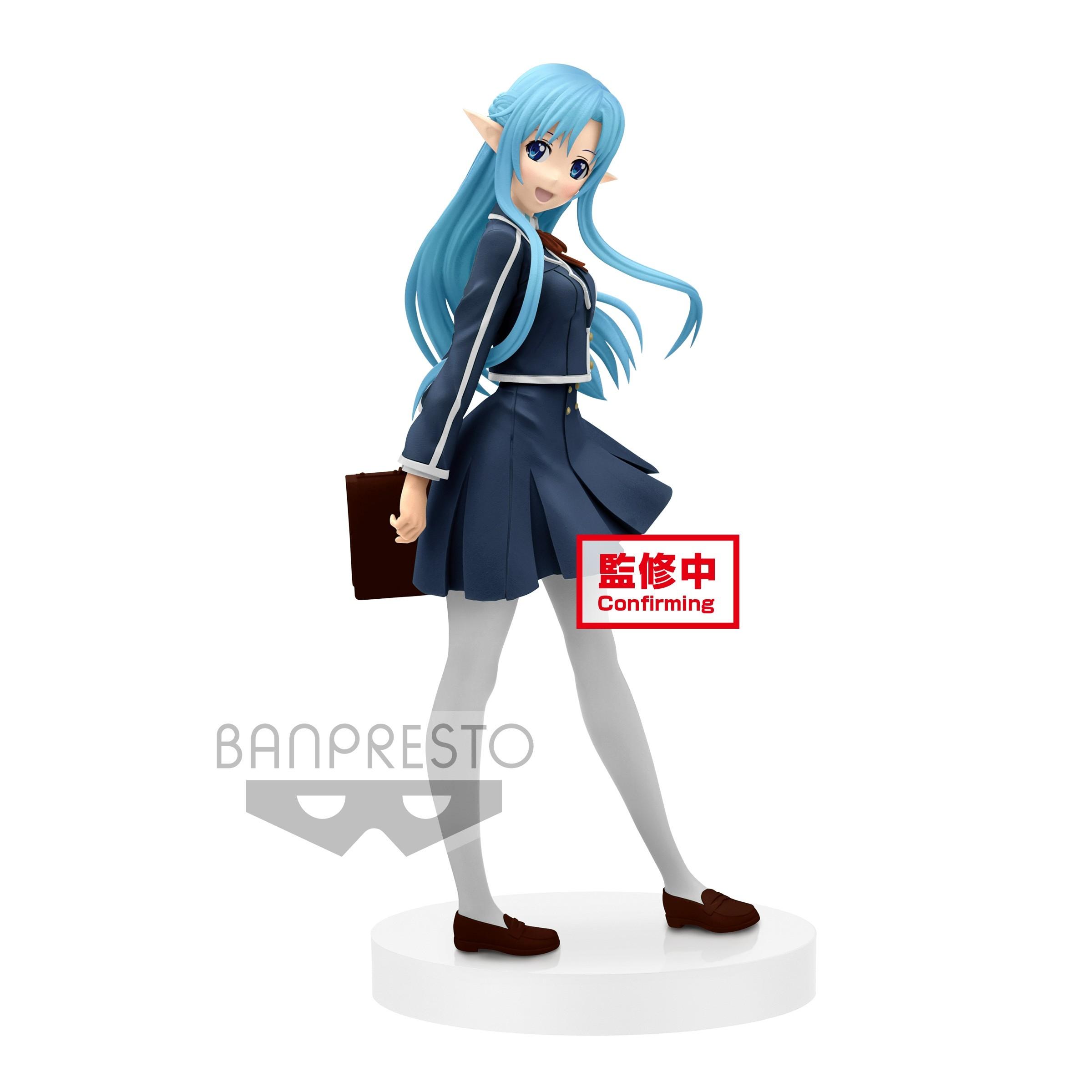 Sword Art Online Figure EXQ School Uniform Asuna