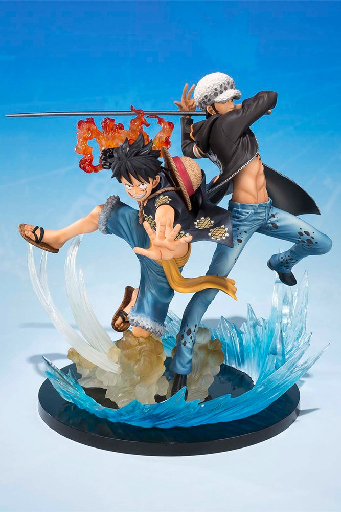 One Piece - Zero Monkey & Trafalgar 5th 16 cm