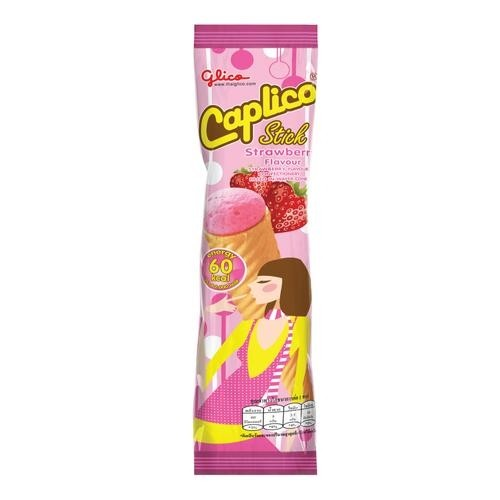 Caplico Strawberry Wafer Cone