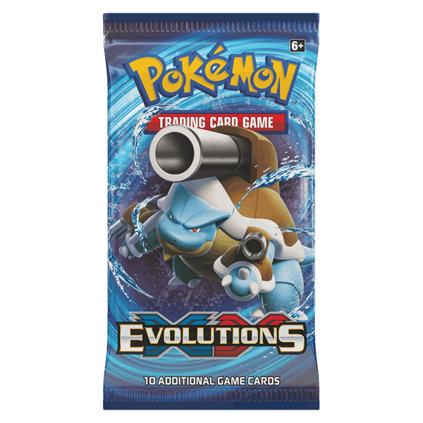Pokemon TCG - XY—Evolutions Booster
