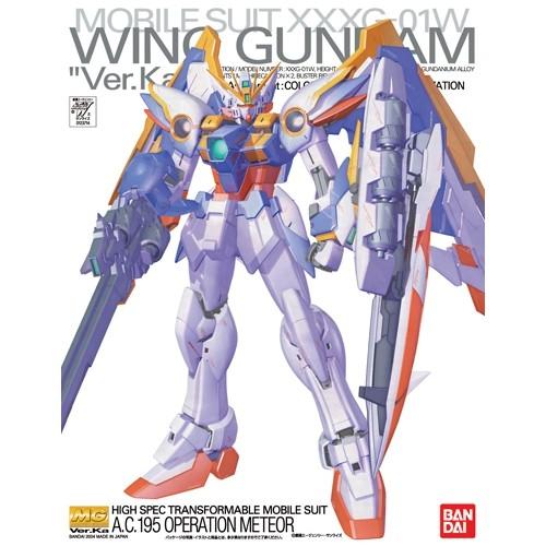 MG WING GUNDAM Ver. Ka 1/100 - GUNPLA
