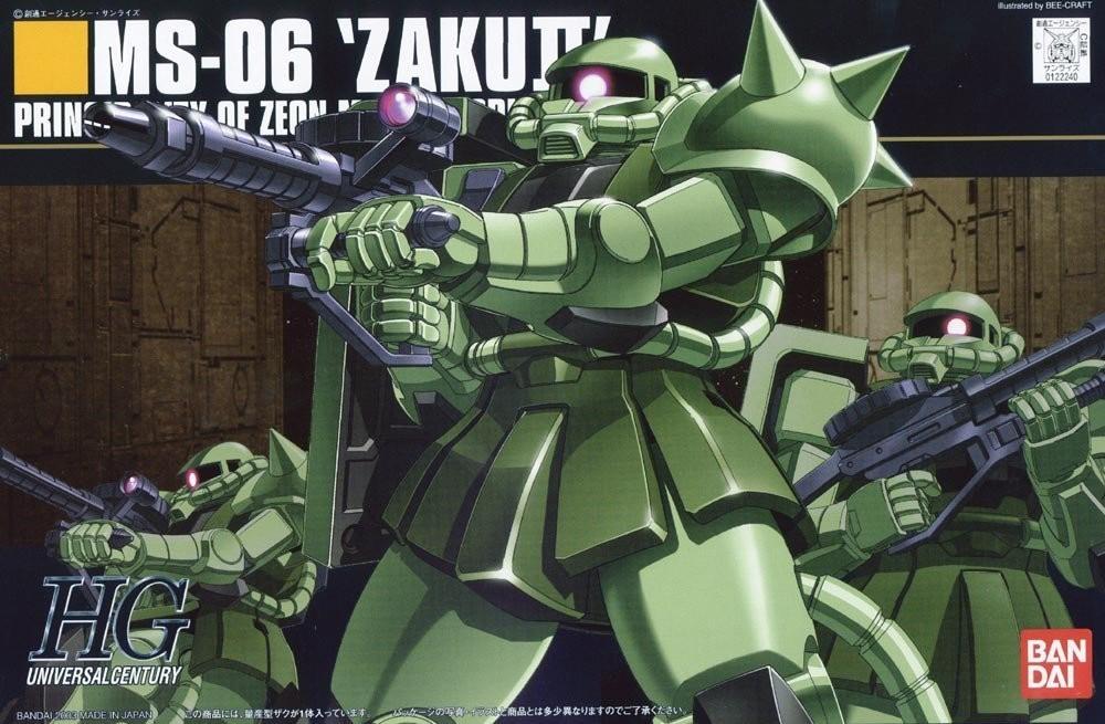 HGUC MS-06 ZAKU II 1/144 - GUNPLA