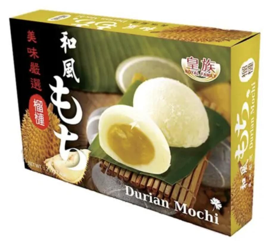 Japanese Style Mochi Rice Cake Durian 210g