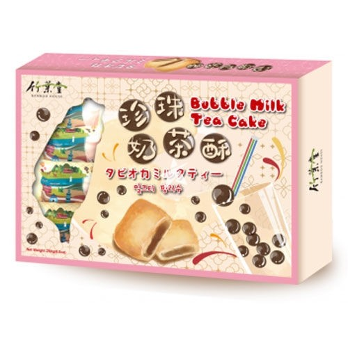 Bamboo House Bubble Milk Tea Pineapple Cake