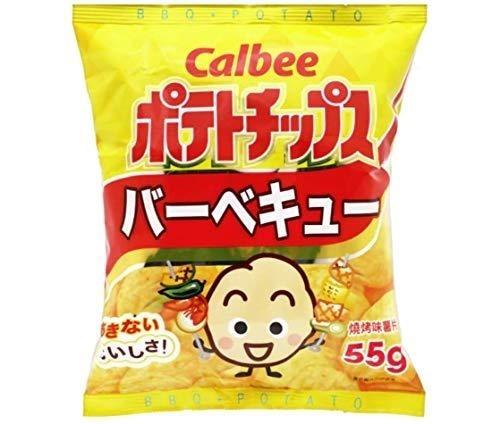 Calbee Potato Chips BBQ Flavour 105g