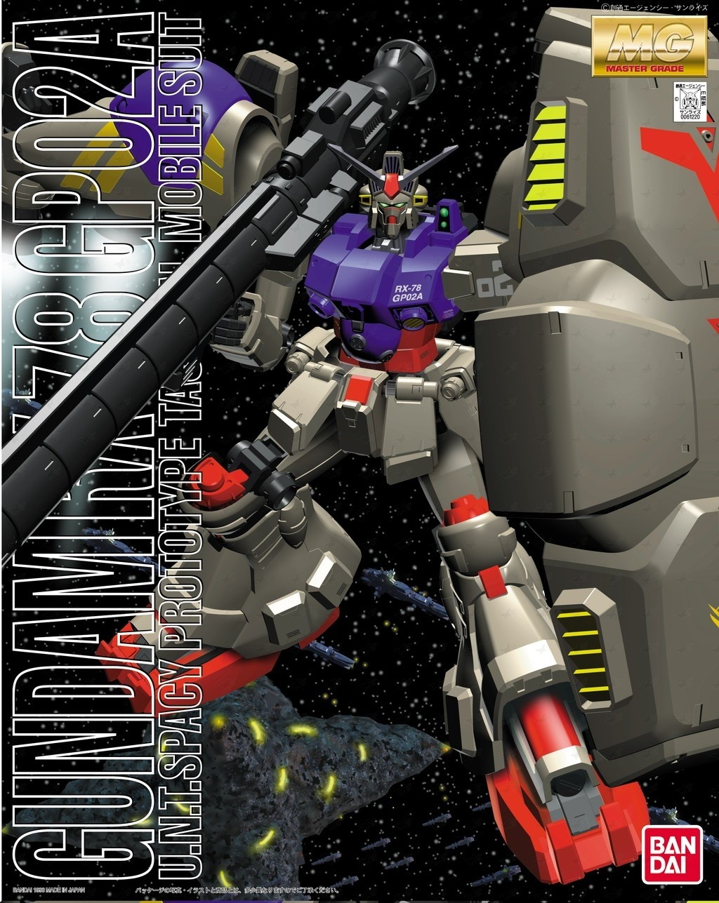 MG GUNDAM RX-78 GP02A 1/100 - GUNPLA