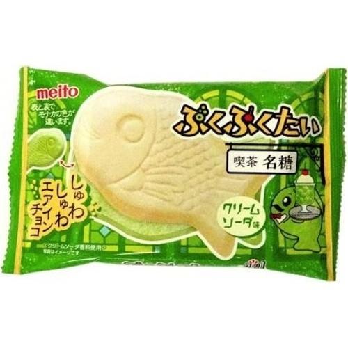 Meito Taiyaki Cream Soda