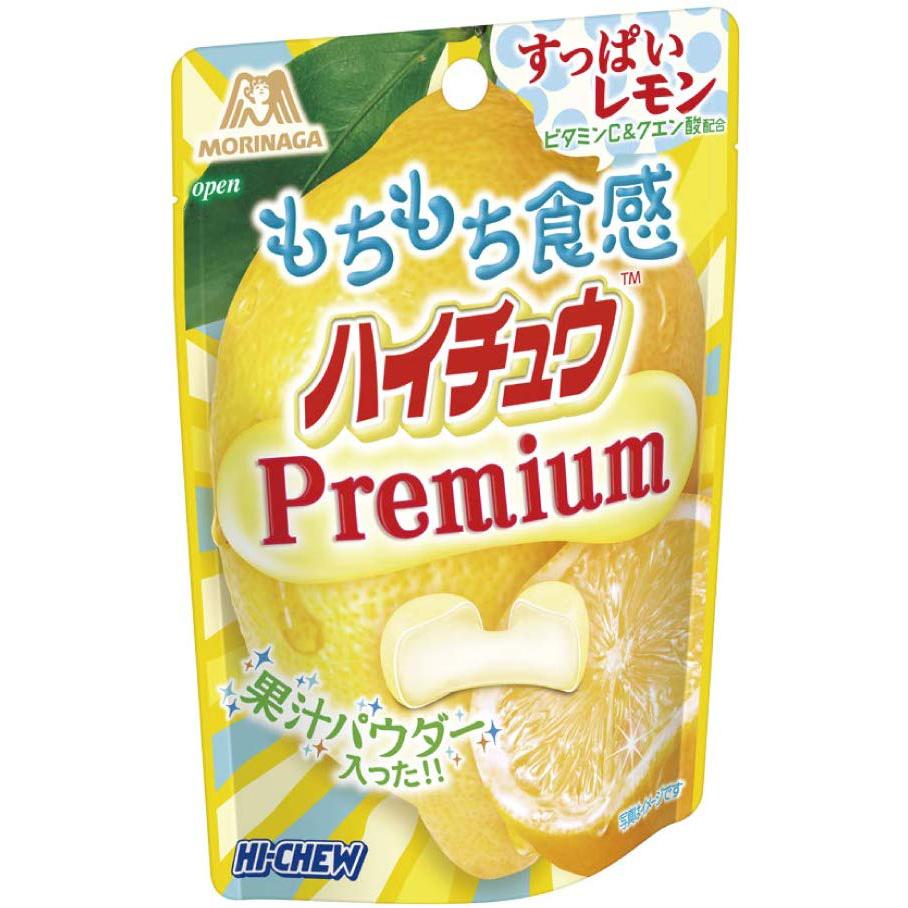 Morinaga Hi-Chew Mini Pouch Premium Lemon 35g