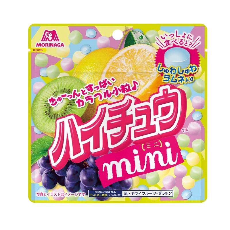 Morinaga Hi-Chew Mini Pouch Grape, Kiwi, Lemon Flavoured Assortment 60g