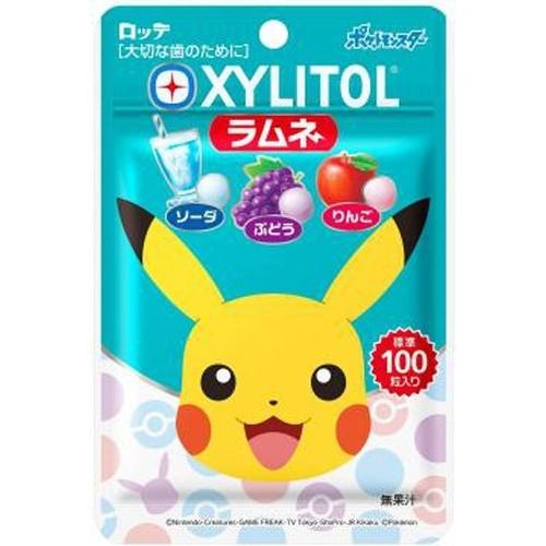 Lotte Pokemon Xylitol Ramune Gum 32g