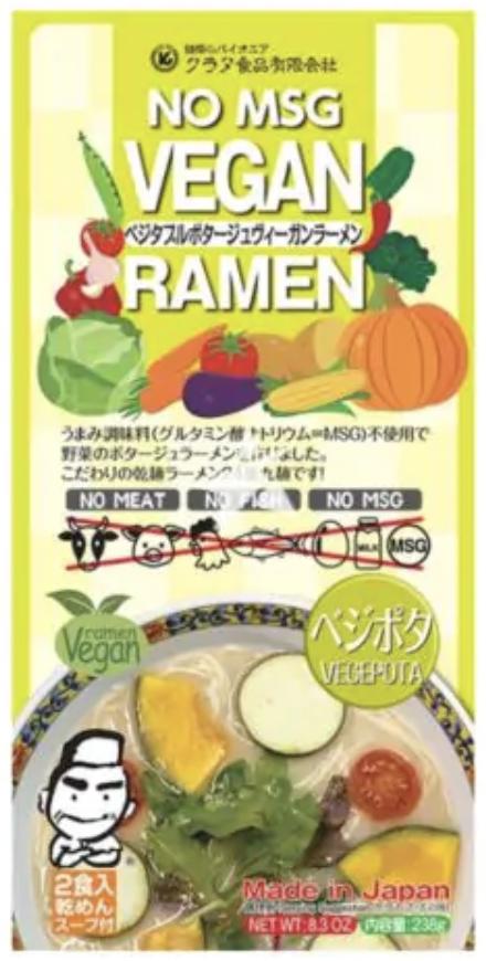Kurata Vegepota Vegan Ramen 238g