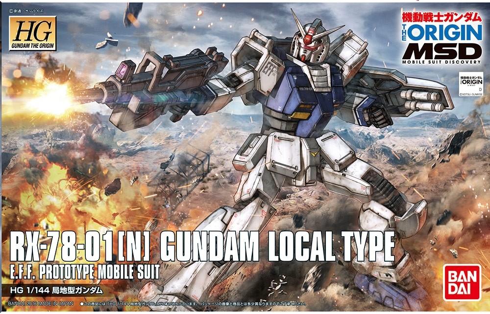 HG GUNDAM LOCAL TYPE 1/144 - GUNPLA
