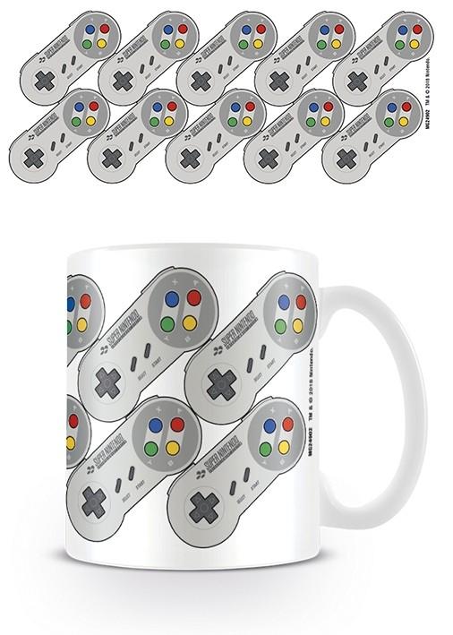 Nintendo - Mug 315 ml / 11 oz - SNES Controller Pattern