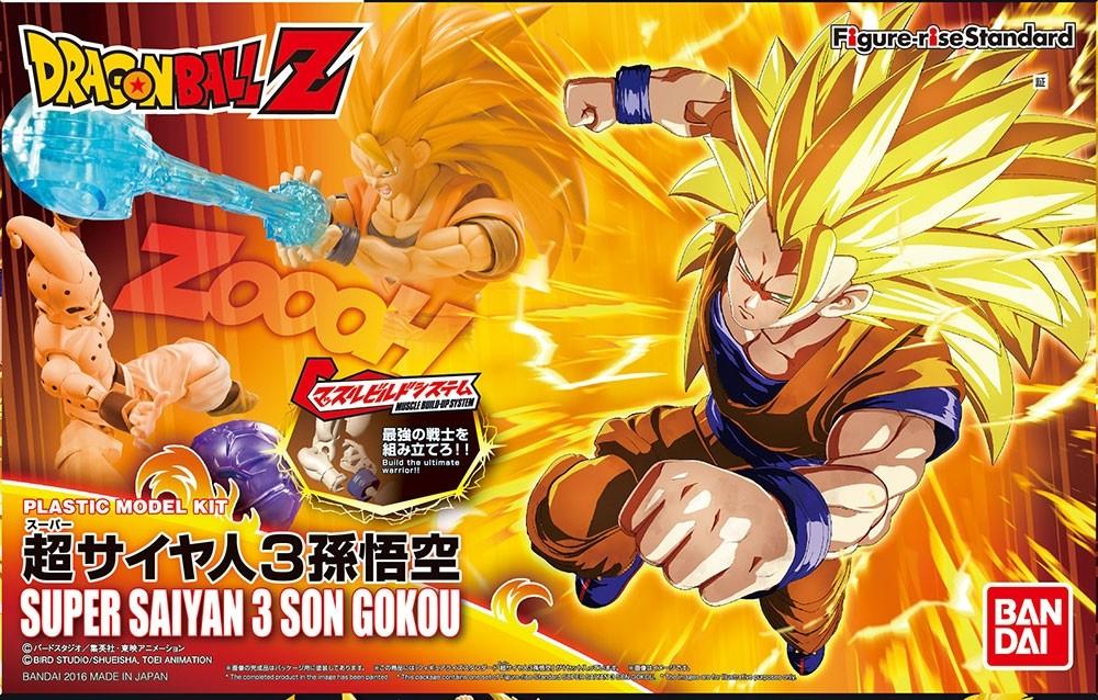 DRAGON BALL Z FIGURE RISE SUPER SAIYAN 3 SON GOKOU