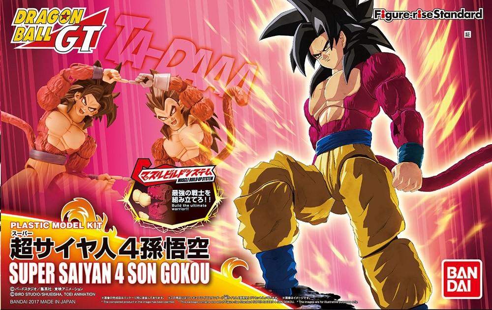 DRAGON BALL GT FIGURE RISE SUPER SAIYAN 4 SON GOKOU