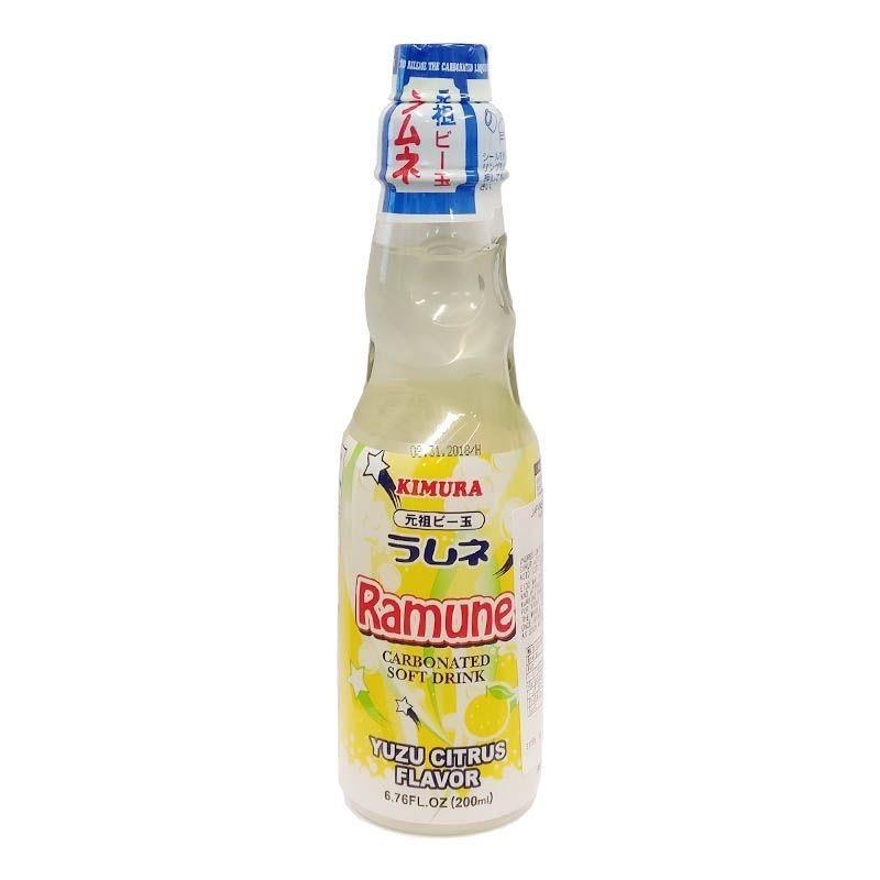 Ramune Pop Drink Yuzu Citrus Flavour 200ml