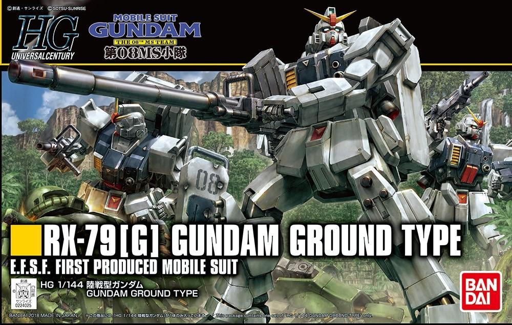HGUC RX-79 [G] GUNDAM GROUND TYPE 1/144 - GUNPLA