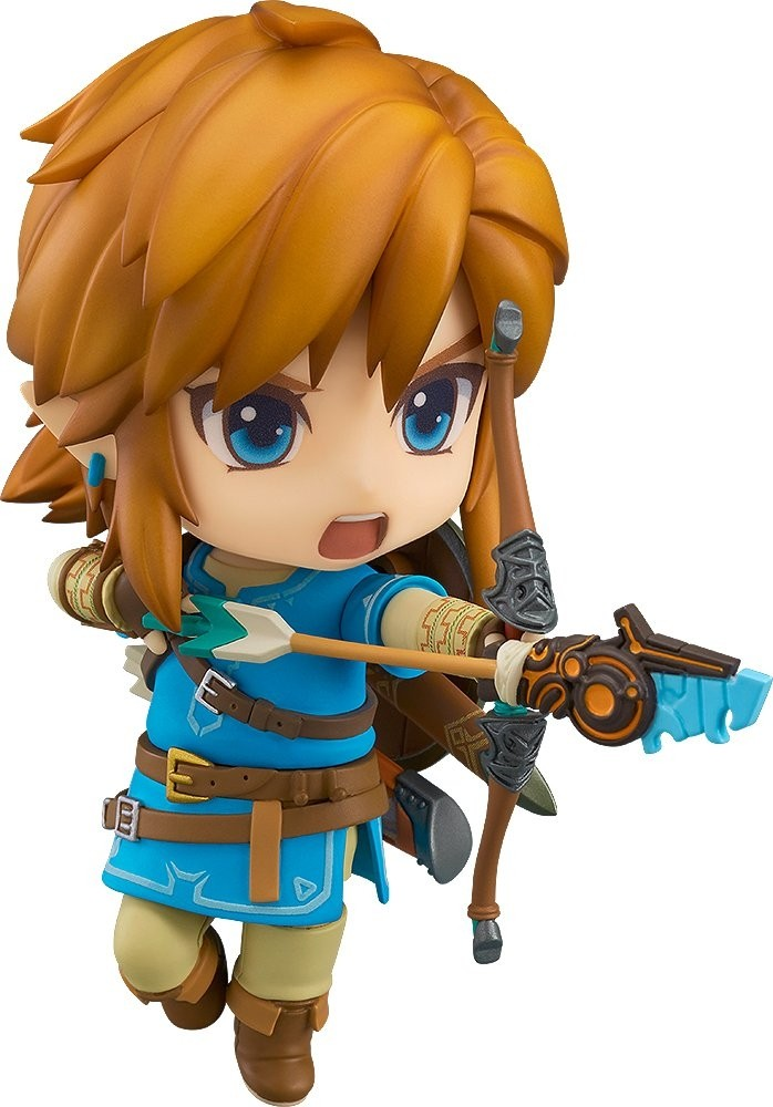 The Legend of Zelda: Breath of the Wild Nendoroid Action Figure - Link Breath of the Wild Ver.