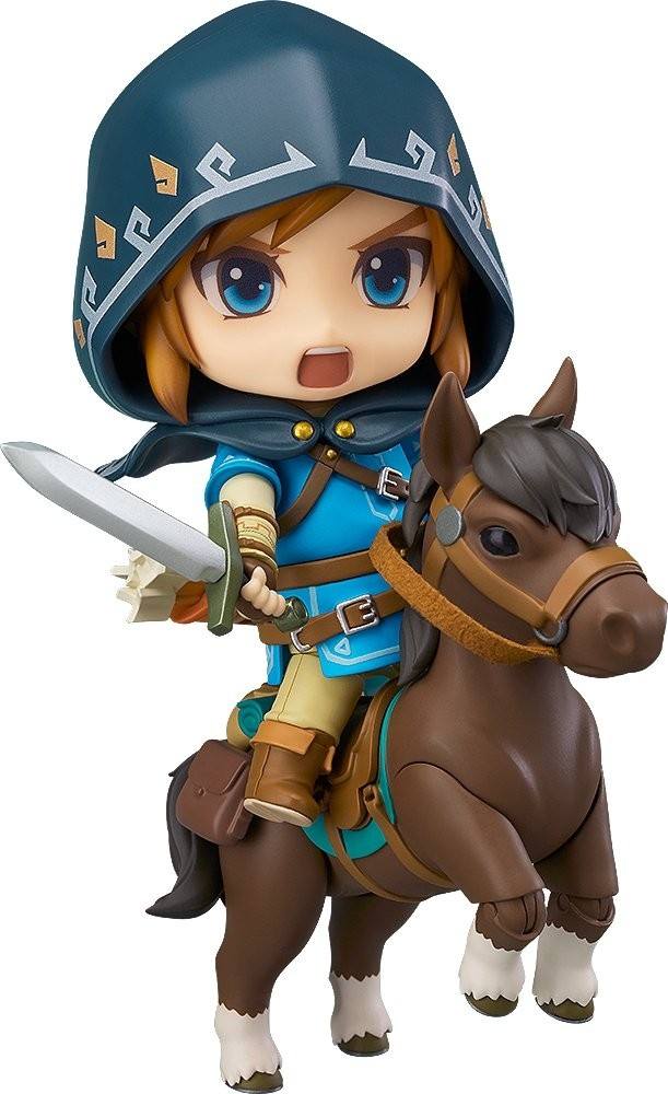 The Legend of Zelda: Breath of the Wild Nendoroid Action Figure - Link Breath of the Wild Ver. DX Edition