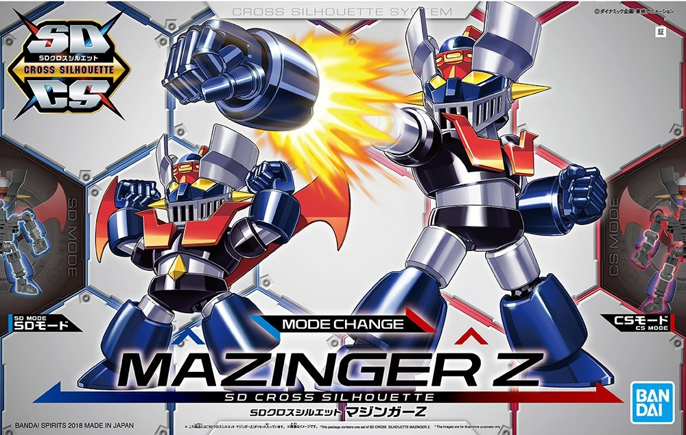 SD CROSS SILHOUETTE MAZINGER Z - PLASTIC MODEL KIT