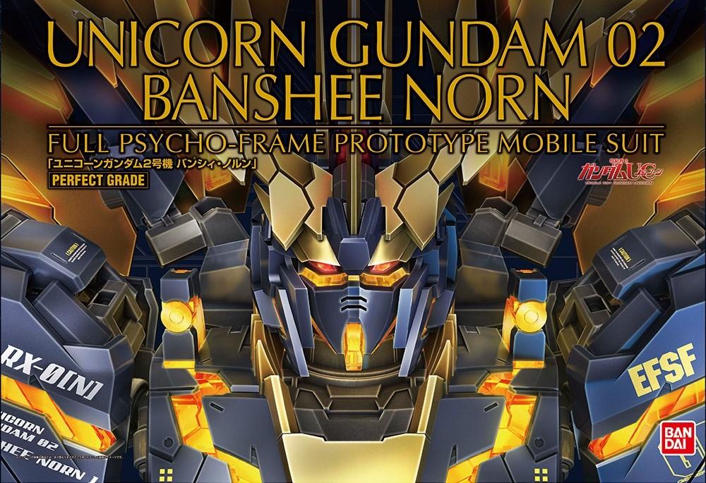 PG RX-0 UNICORN GUNDAM 02 BANSHEE NORN 1/60 - GUNPLA