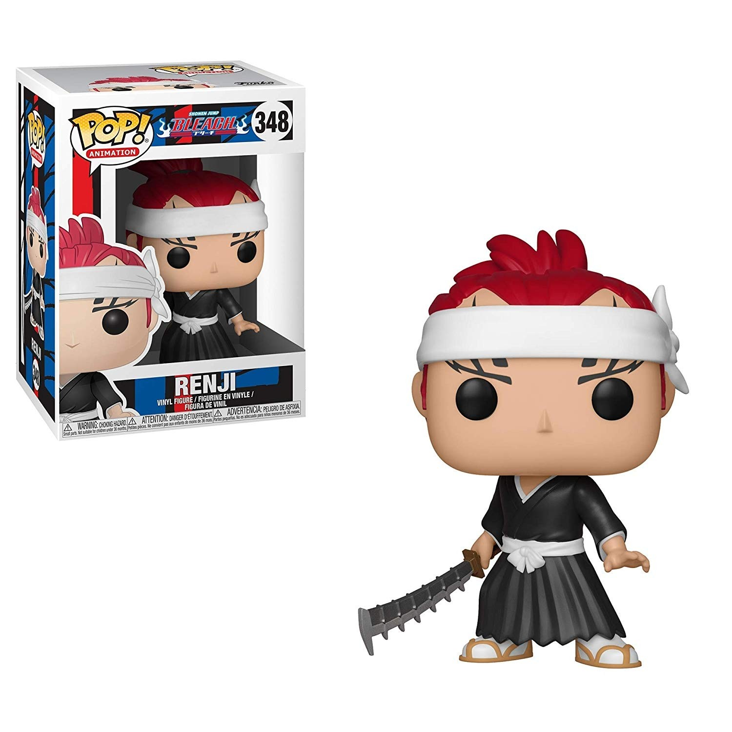 POP! Vinyl: Bleach: Renji - 10 cm