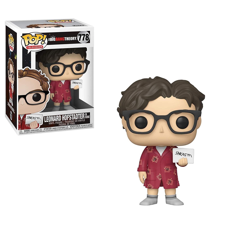 POP! Vinyl: The Big Bang Theory: Leonard Hofstadter in Robe