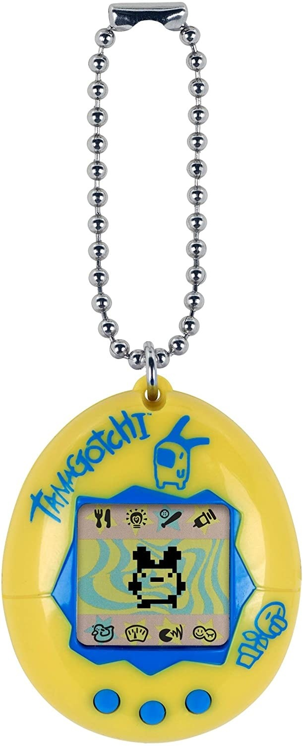 Tamagotchi Yellow & Blue