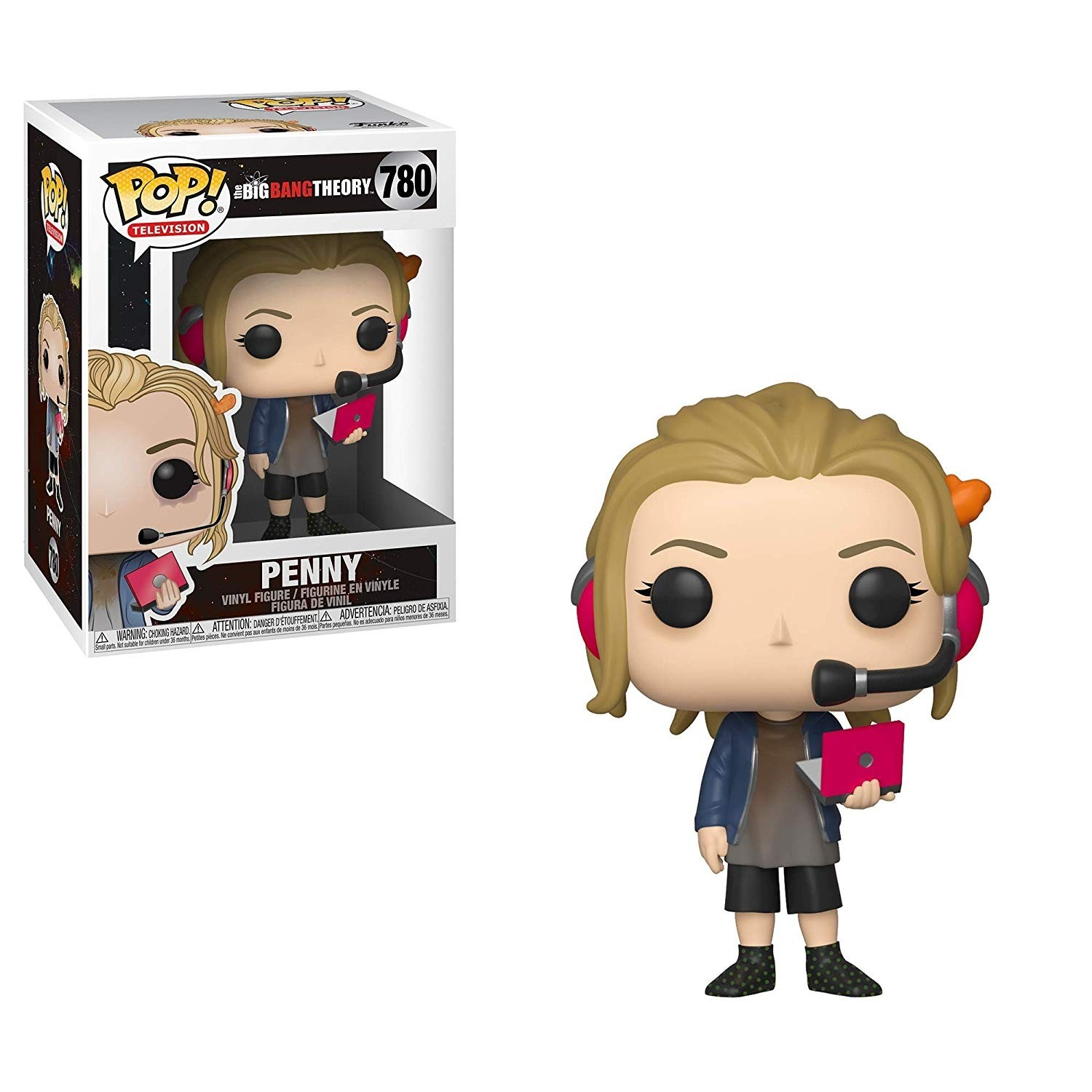 POP! Vinyl: The Big Bang Theory: Penny with Laptop