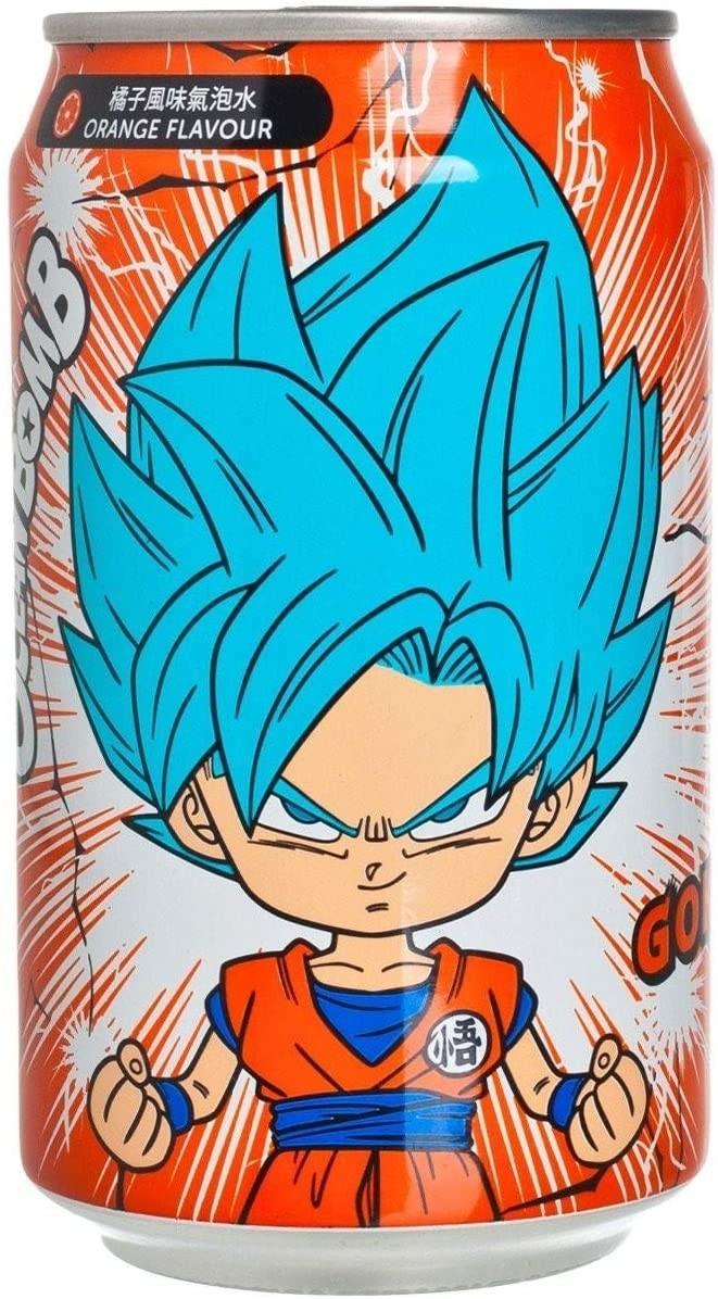 Dragon Ball Super YHB Ocean Bomb Super Saiyan Blue Goku Orange Flavour Soda