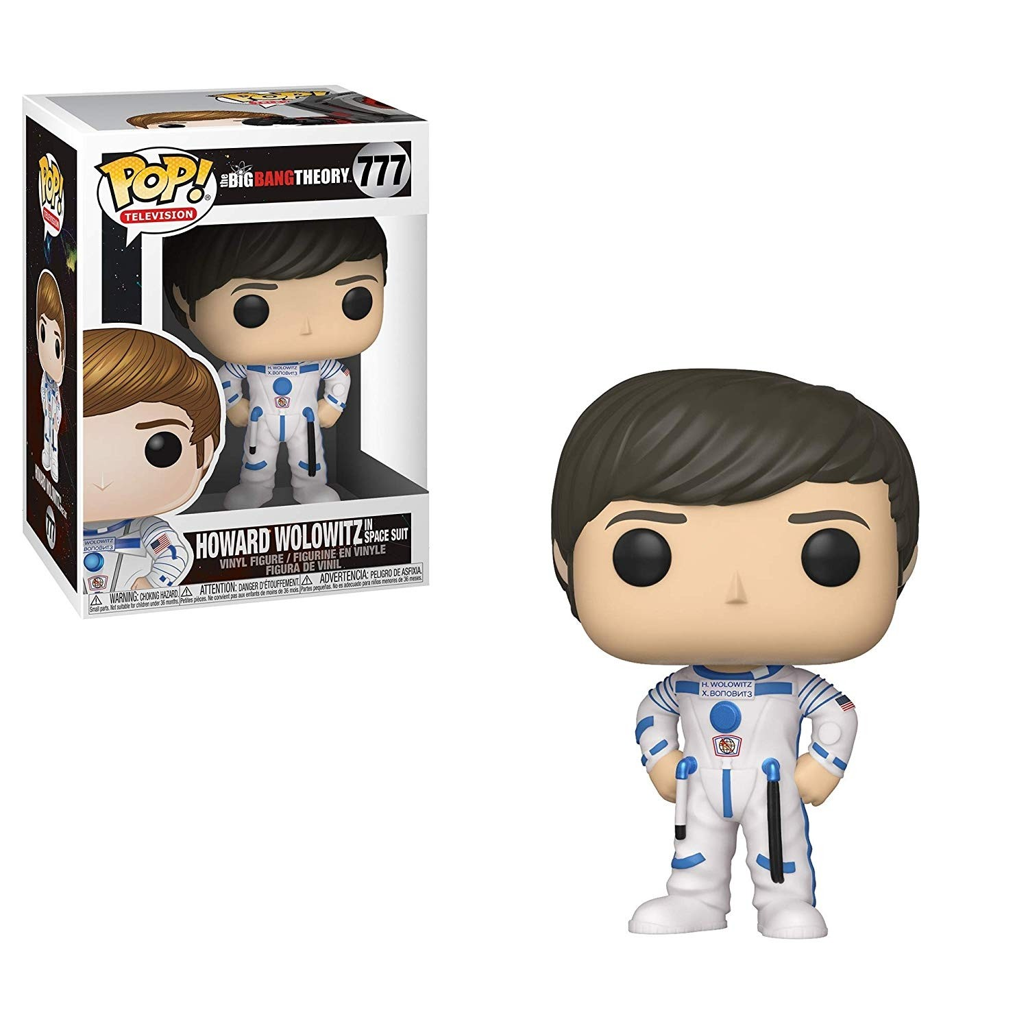 POP! Vinyl: The Big Bang Theory: Howard Wolowitz in Space Suit