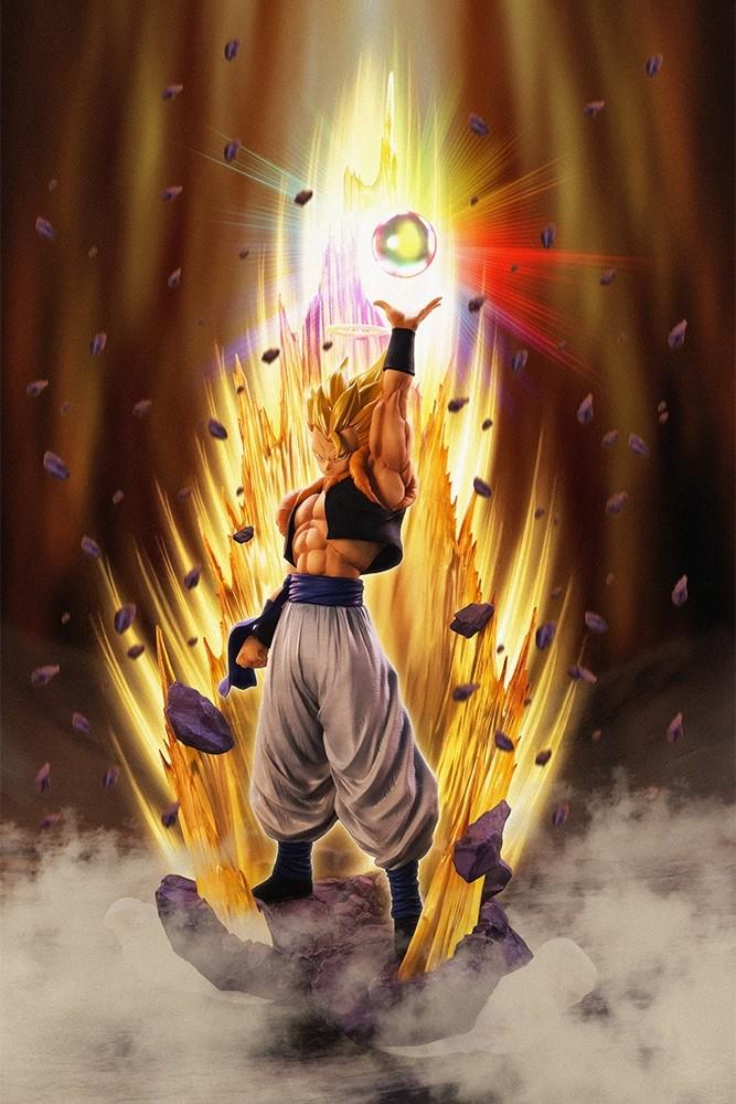 Dragon Ball Z Figuarts ZERO Super Saiyan Gogeta Resurrect