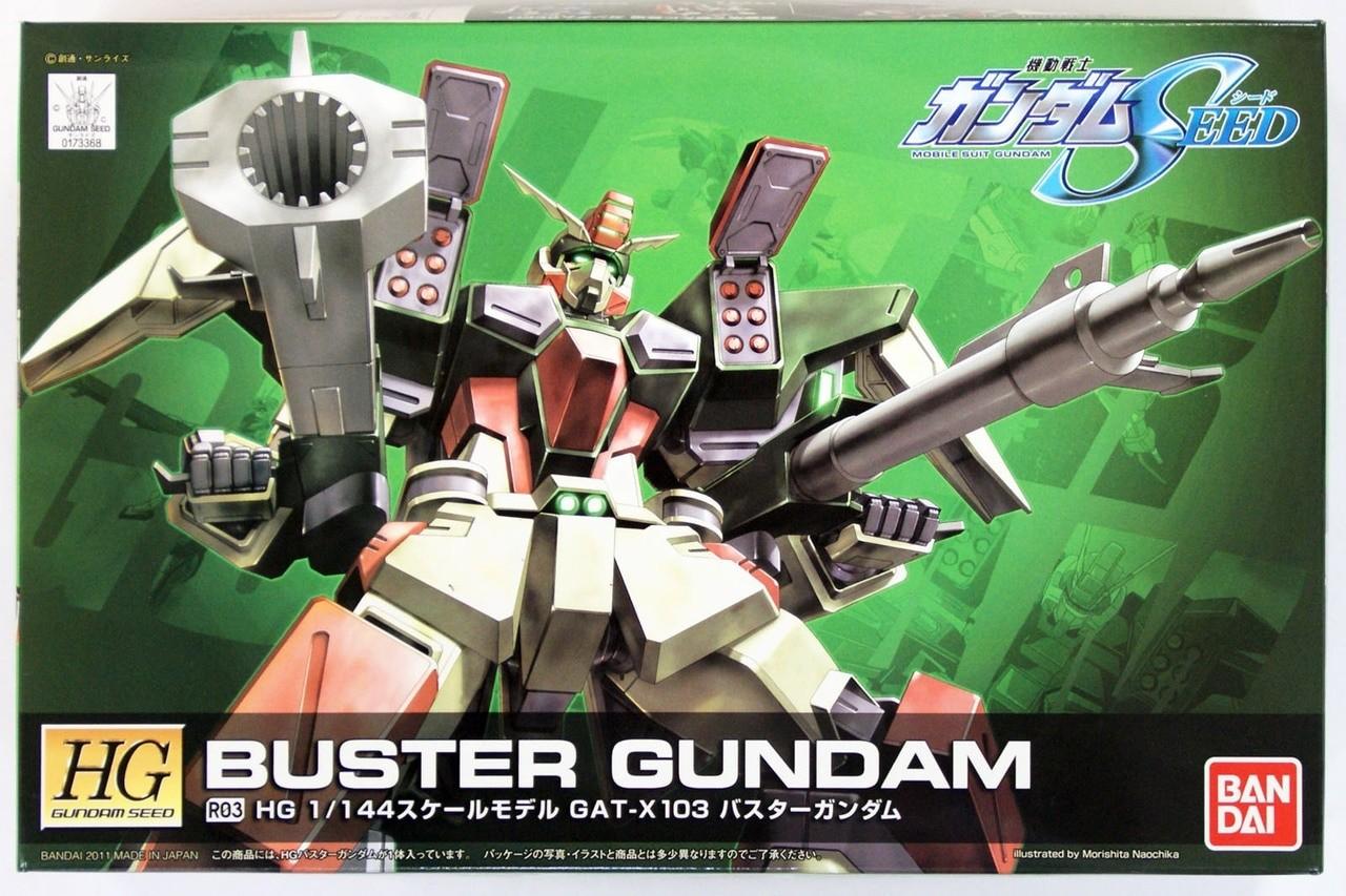 HG BUSTER GUNDAM R03 1/144 - GUNPLA