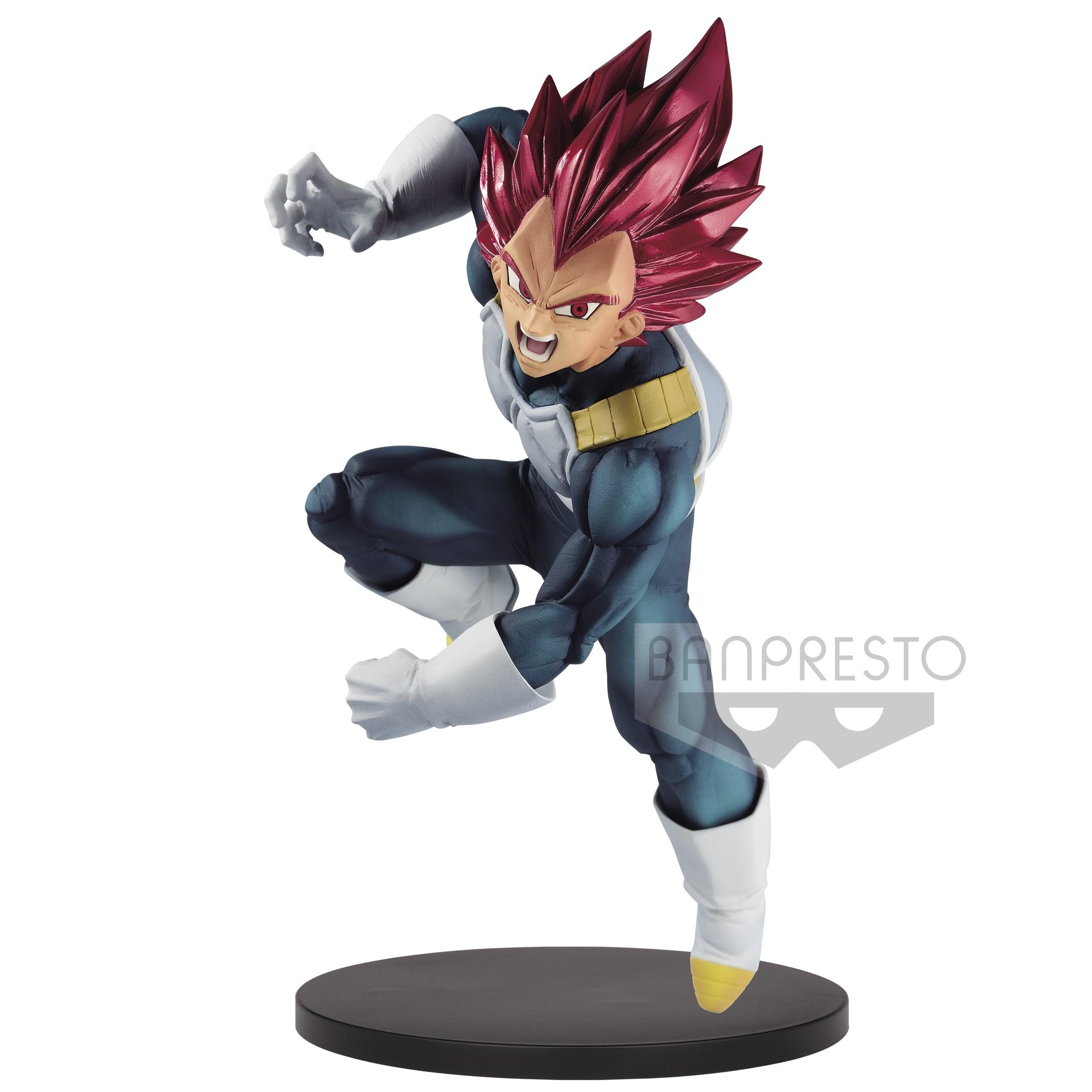 Dragon Ball Super Figure Blood of Saiyans Special VII Super Saiyan God Vegeta