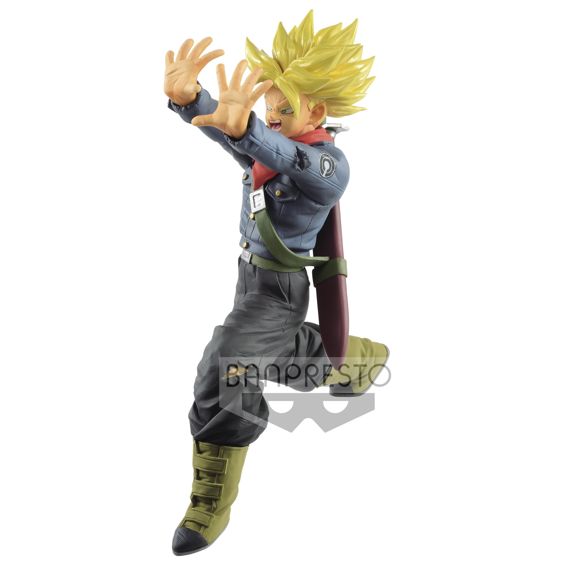 Dragon Ball Super Figure Super Saiyan Trunks Galick Gun