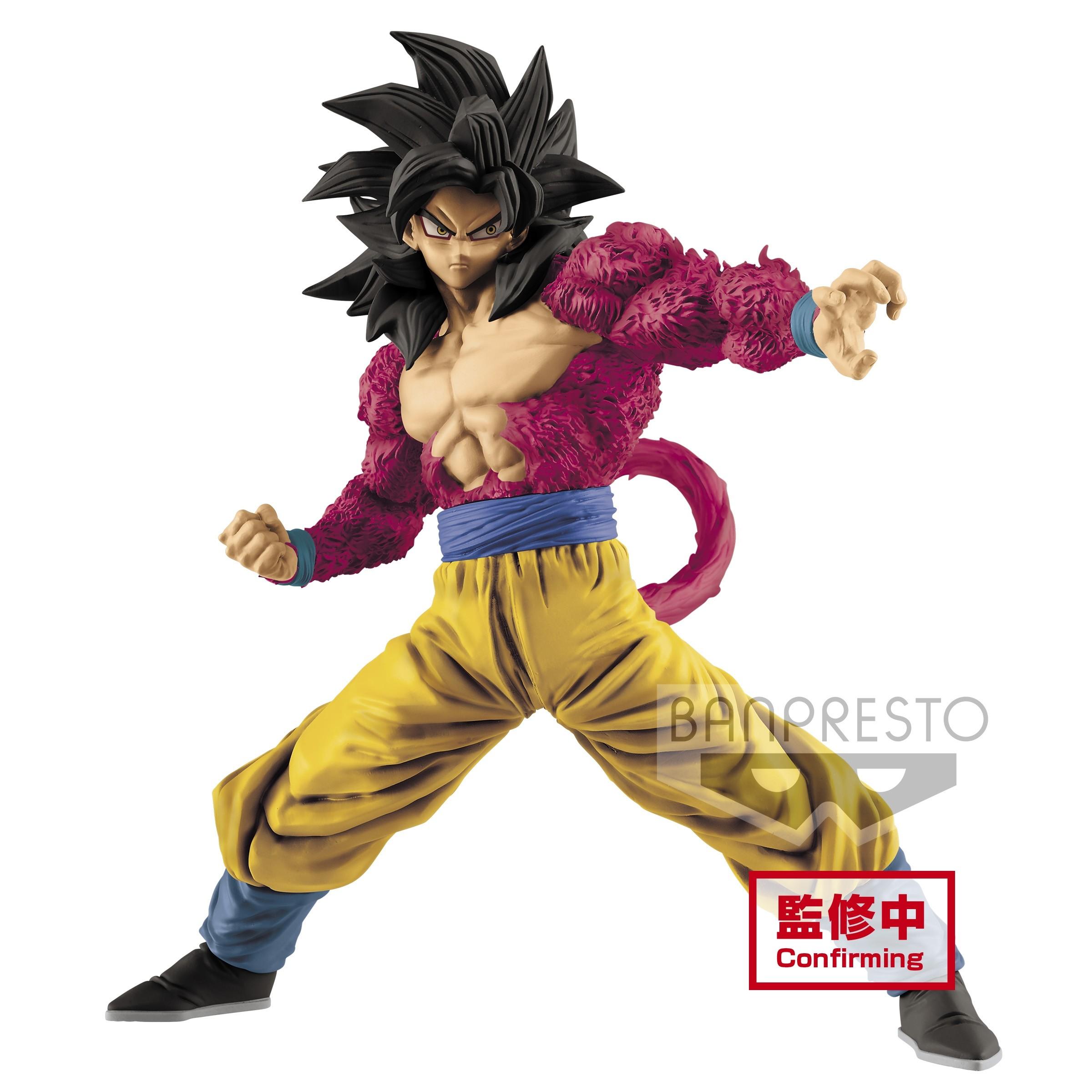 Dragon Ball GT Figure Full Scratch The Super Saiyan 4 Son Goku