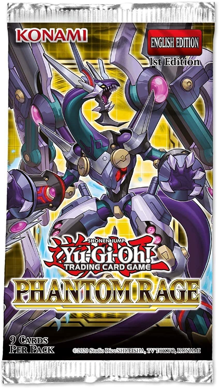 Yu-Gi-Oh! TCG - Phantom Rage Booster Pack