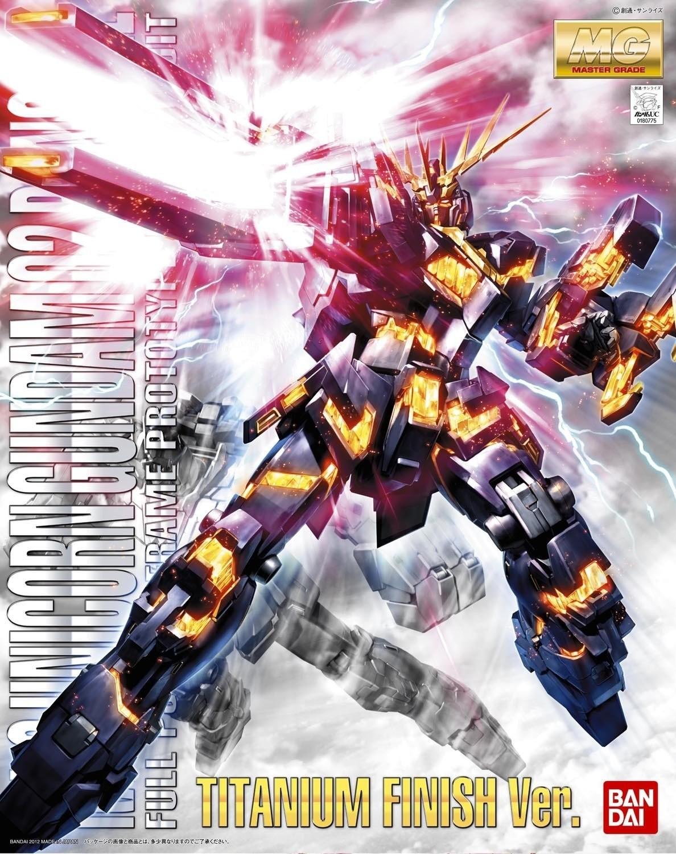 MG RX-0 UNICORN GUNDAM 02 BANSHEE  TITANIUM FINISH Ver. 1/100 - GUNPLA