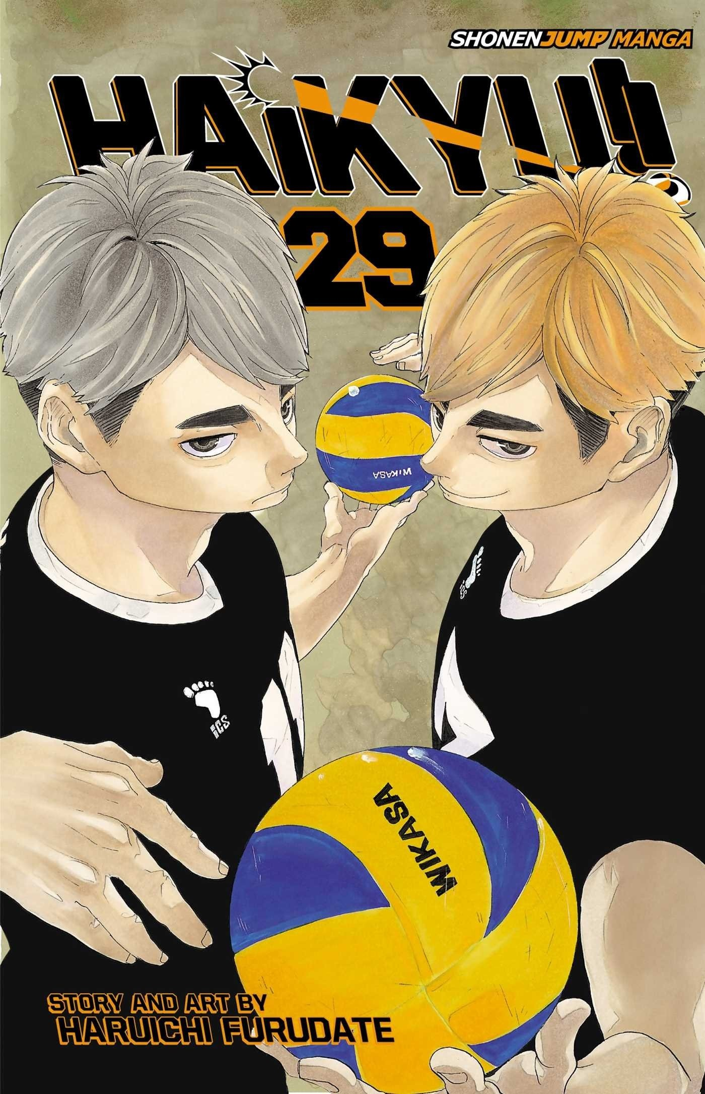 Haikyu!!, Vol. 29