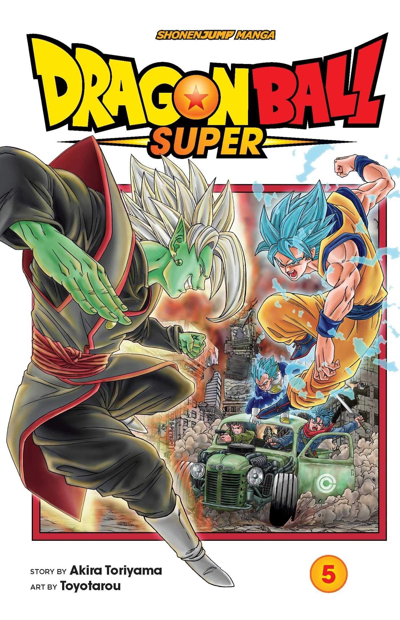 Dragon Ball Super, Vol. 05