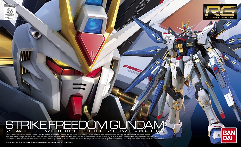 RG STRIKE FREEDOM GUNDAM 1/144 - GUNPLA