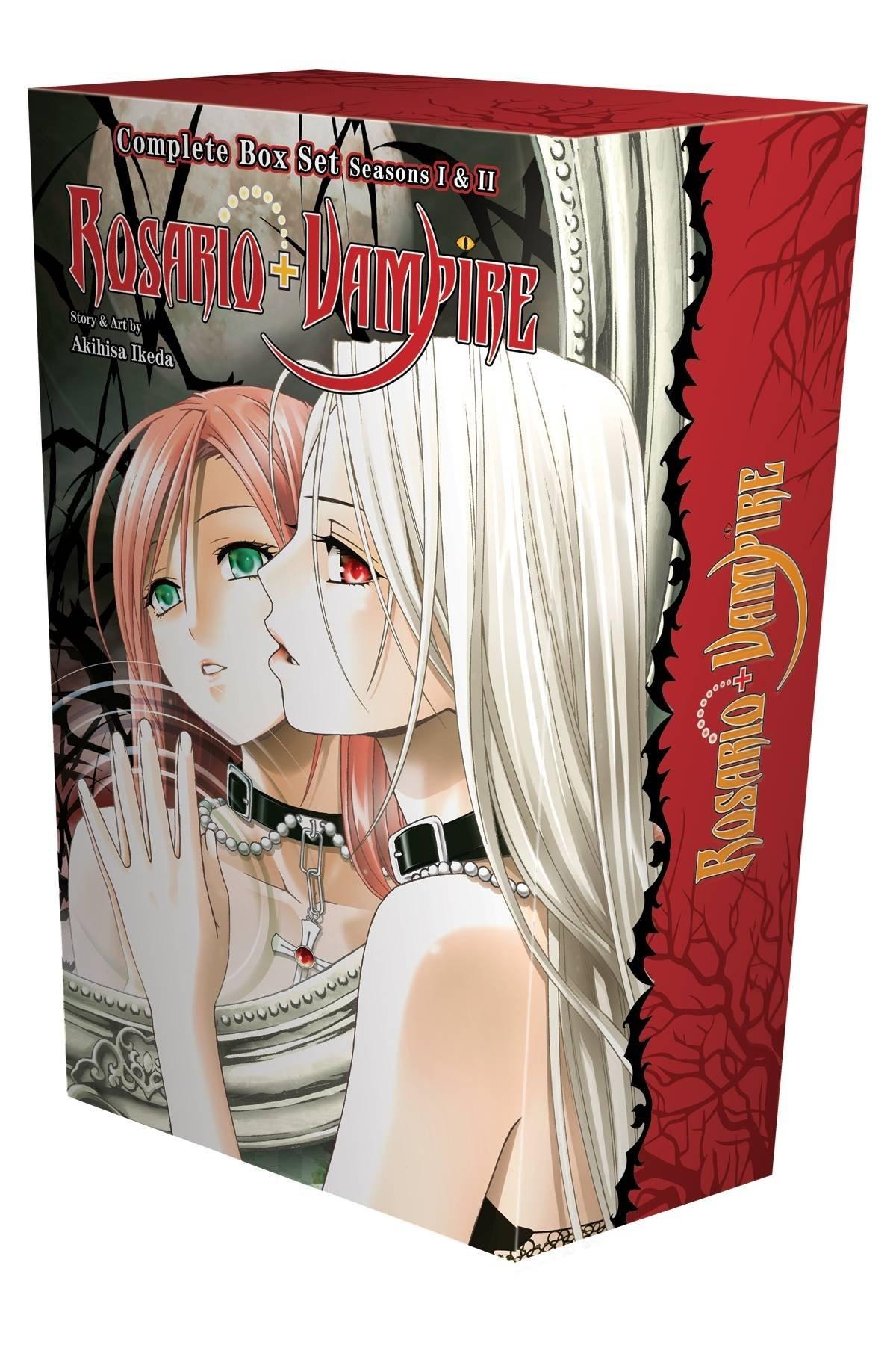 Rosario + Vampire, Complete Box Set (Volumes 1-10 and Season II Volumes 1-14)