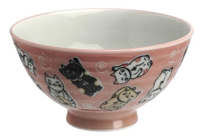 Kawaii Rice Bowl multi maneki neko