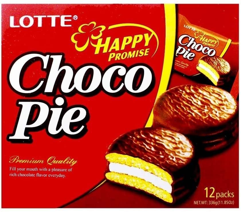 Lotte Choco Pie 12 Pieces (28g) 336g