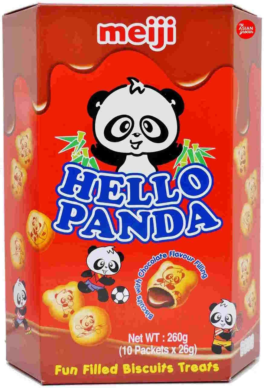 Hello Panda Chocolate Flavoured Biscuit (26g x 10 packets)