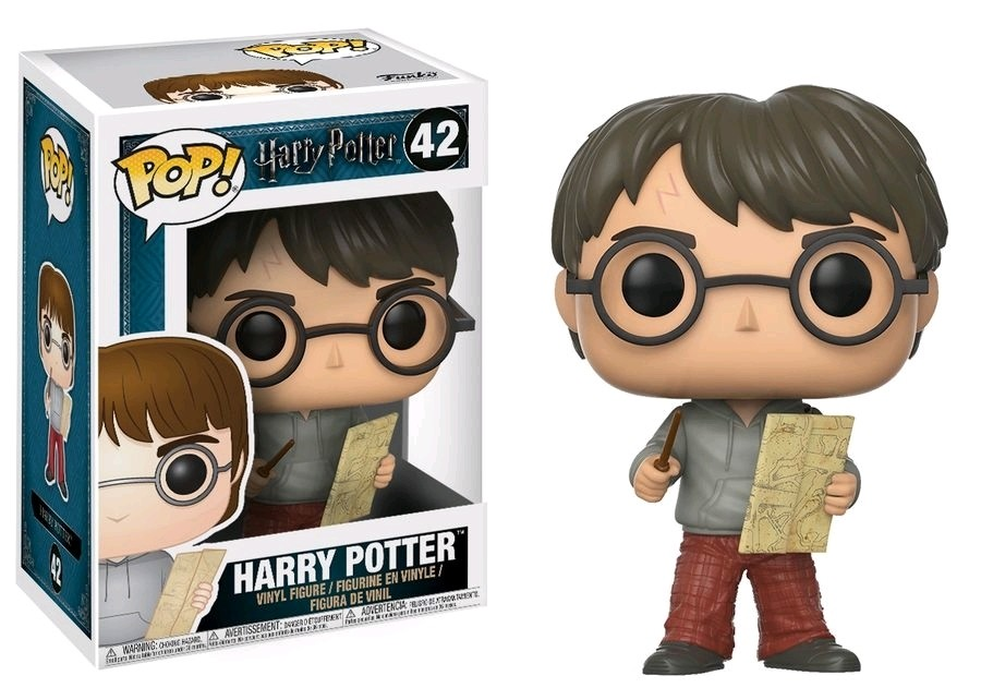 POP! Vinyl: Harry Potter: Harry Potter w/ Marauders Map