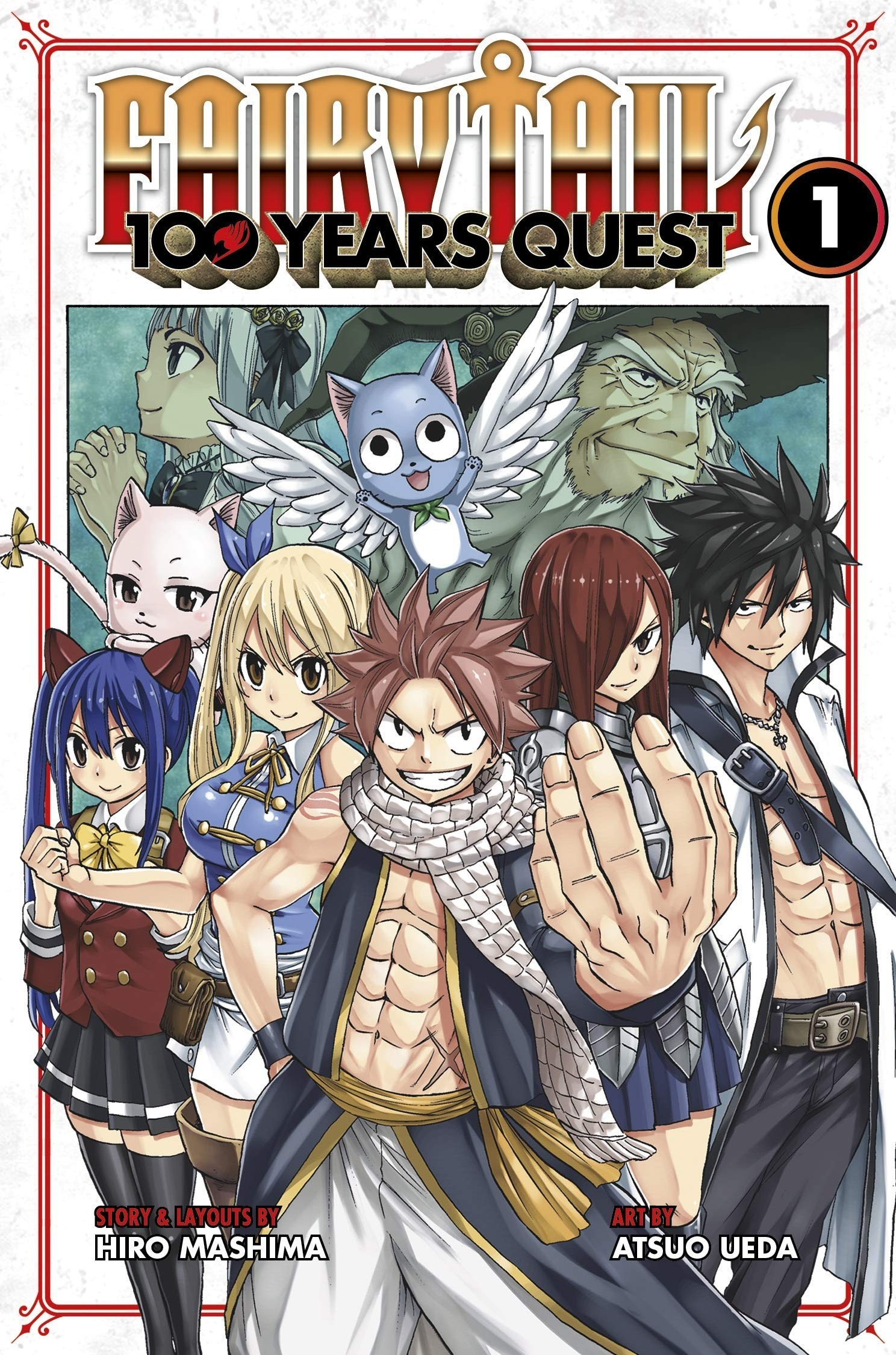 Fairy Tail, 100 years Quest Vol  01