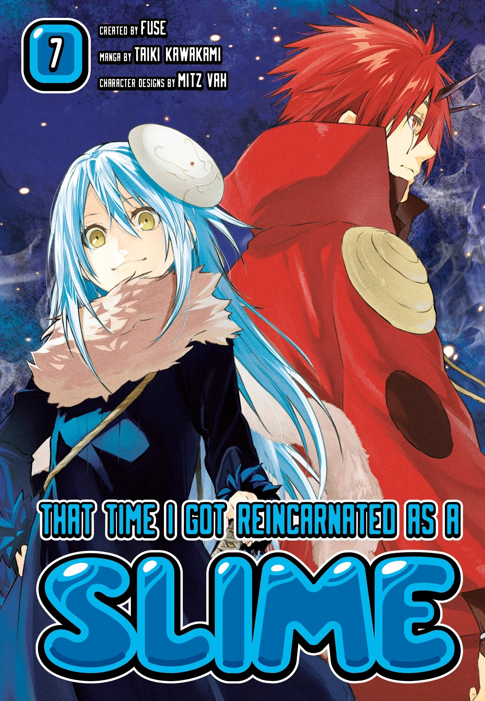 That Time I Got Reincarnated as a Slime, Vol. 07